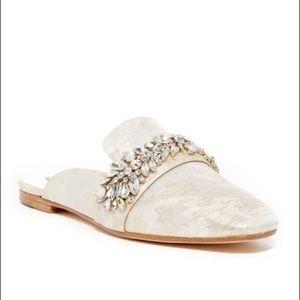 Badgley Mischka 'Kana' Embellished Mule Loafer